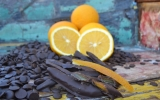 Kandovaná pomerančová kůra v čokoládě